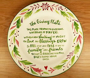 Tucson Mall The Giving Plate