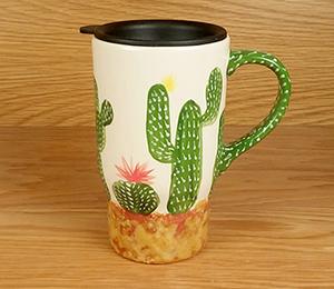 Tucson Mall Cactus Travel Mug