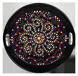 Tucson Mall Mosaic Mandala Tray