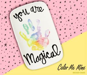 Tucson Mall Rainbow Handprint