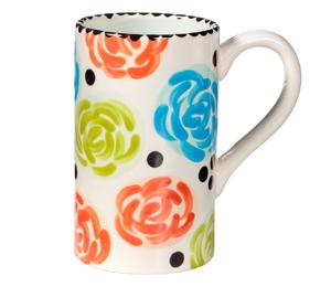 Tucson Mall Simple Floral Mug