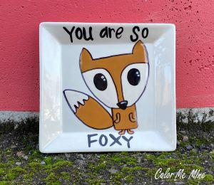 Tucson Mall Fox Plate
