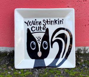 Tucson Mall Skunk Plate