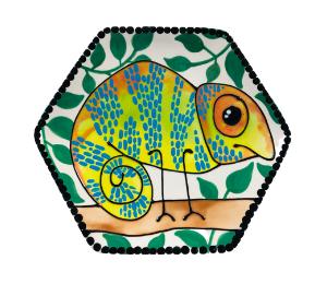 Tucson Mall Chameleon Plate
